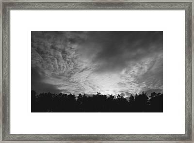 Dark Sky  Framed Print by Ben Foster