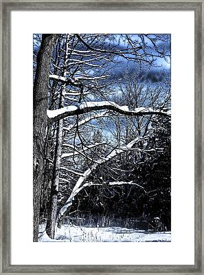 Framed Print featuring the photograph Dark Sky by Michaela Preston