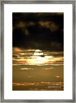 Dark Skys Framed Print by Sheldon Blackwell