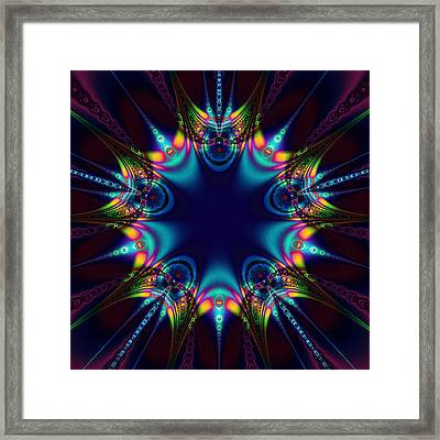 Dark Star Framed Print