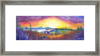 Dark Star Orchestra Dillon Amphitheater Framed Print by David Sockrider