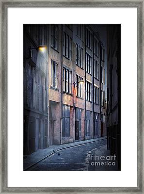 Dark Street Framed Print by Svetlana Sewell