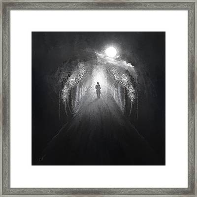 Dark To Light Framed Print by Lourry Legarde