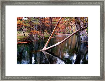 Framed Print featuring the photograph Dark Waters by David  Norman