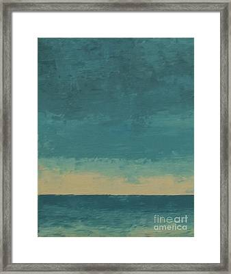 Dark Waters Framed Print by Gail Kent