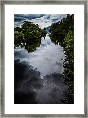 Dark Waters Of Loch Ness Framed Print by Matthew Onheiber
