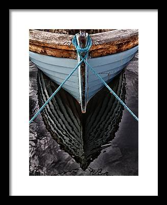 Shrimp Boats Framed Prints