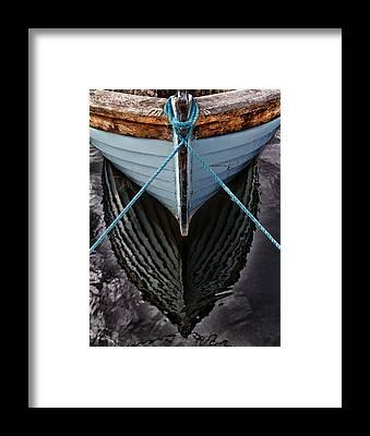 Old Boat Framed Prints