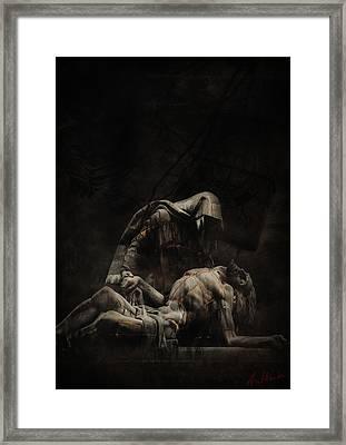Darkdraw2 Framed Print by Sven  Boeck