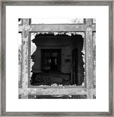 Darker Within Framed Print