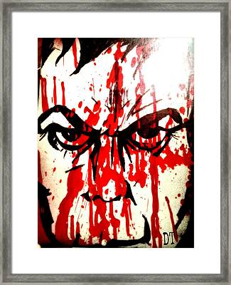 Darkly Dreaming Deemon Framed Print by Deemon Picasso