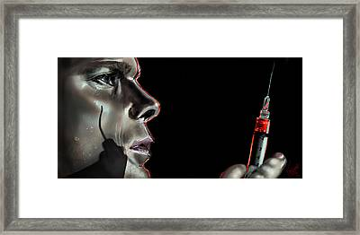Darkly Dreaming Dexter Framed Print by Vinny John Usuriello