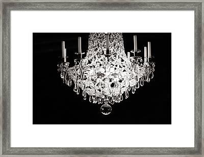 Darkness And Light Framed Print