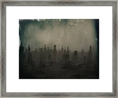 Darkness Begins Framed Print by Gothicrow Images