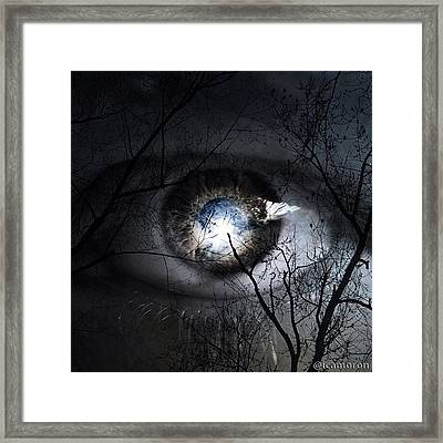 Darkness Falls Across The Land The Framed Print