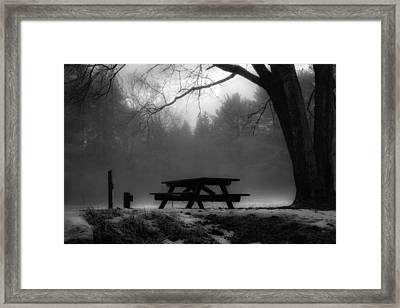 Darkness Falls Framed Print by Anthony Thomas