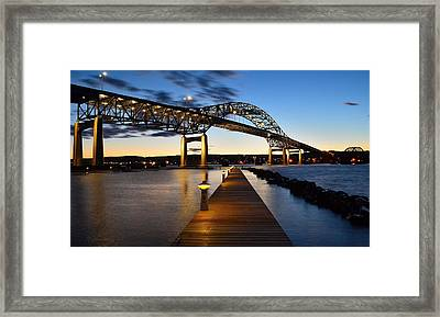 Framed Print featuring the digital art Darkness Falls by Gregory Israelson