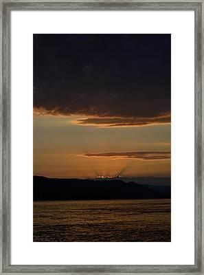 Darkness Falls Framed Print by Joshua Massenburg