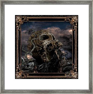 Darkness Within Framed Print