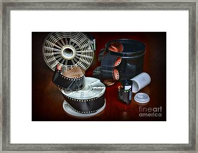 Darkroom Film Developing Framed Print by Paul Ward