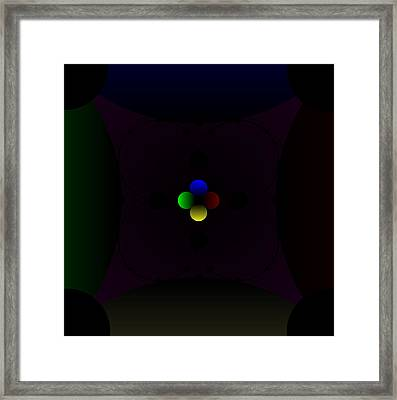 Darkside Seven From Tree Framed Print by Uri Amberum