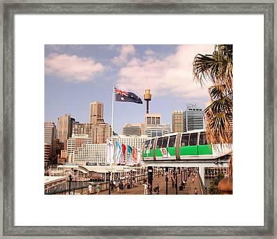 Darling Harbor Framed Print