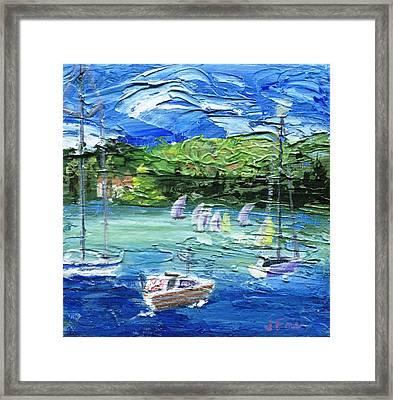 Darling Harbor II Framed Print by Jamie Frier