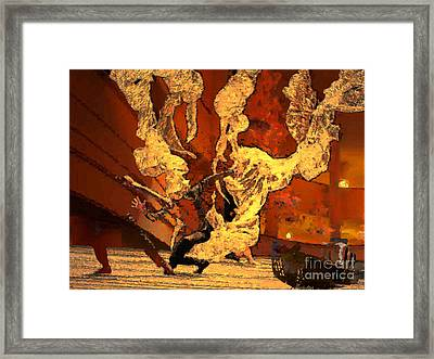 Darling Save The Last Waltz For Me Framed Print by Mojo Mendiola