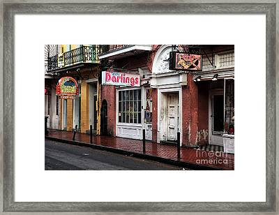 Darlings Of New Orleans Framed Print by John Rizzuto