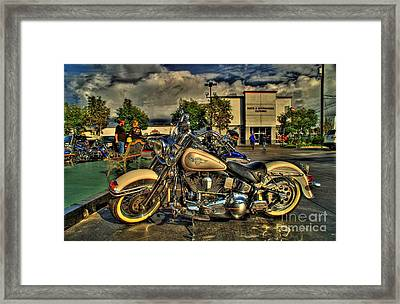 Darrell Keller Memorial Bike Rally Framed Print
