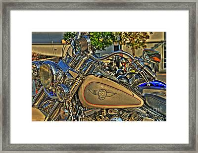 Darrell's Heritage Framed Print by Shaw Photography - PDA Private Collection