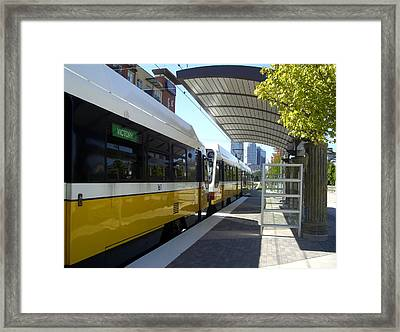 Dart Tran Station Framed Print by Eric Martin