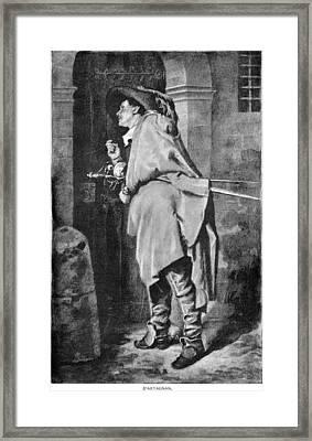 D'artagnan Framed Print