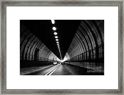 Dartford Crossing Tunnel Framed Print