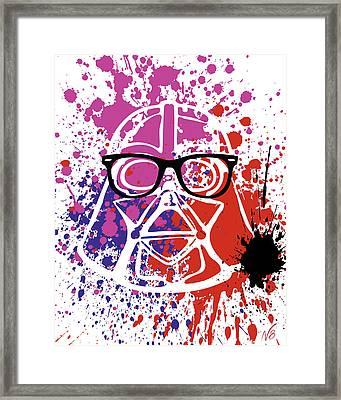 Darth Vader Corrective Lenses Framed Print by Decorative Arts