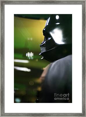 Darth Vader Framed Print by Micah May