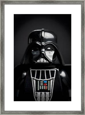 Darth Vader Framed Print by Samuel Whitton