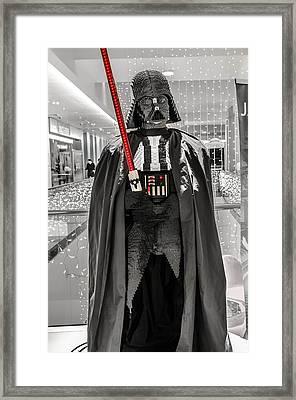 Darth Vader. Framed Print