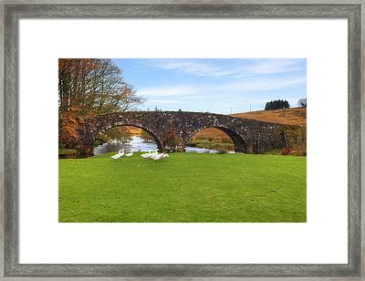 Dartmoor - Two Bridges Framed Print by Joana Kruse