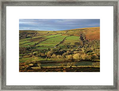 Dartmoor From Bonehill Framed Print