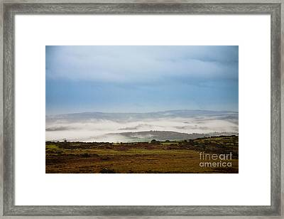Dartmoor Mist Framed Print by Jan Bickerton