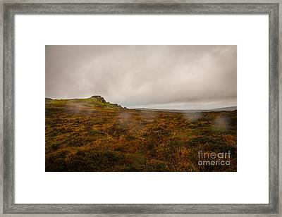 Dartmoor Rain Framed Print by Jan Bickerton