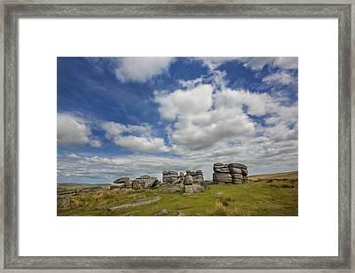Dartmoor Tor Framed Print