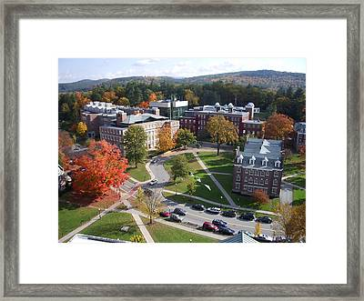 Dartmouth College Campus Framed Print