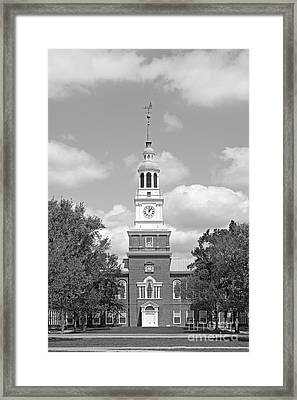 Dartmouth College Baker- Berry Library Framed Print by University Icons