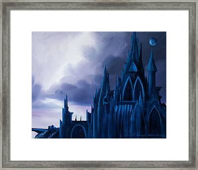 Dartonian Castle Framed Print by James Christopher Hill