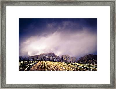 Dart's Farm Framed Print
