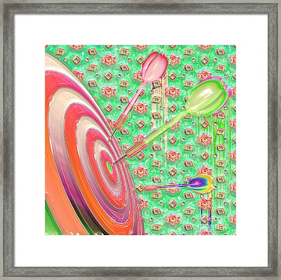 Darts Framed Print by Liane Wright