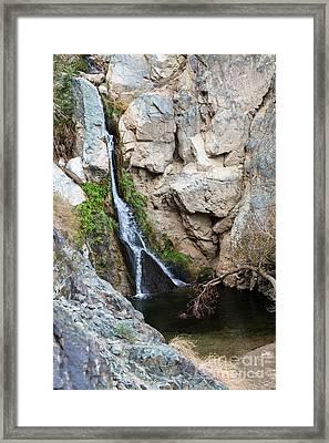 Darwin Falls Framed Print
