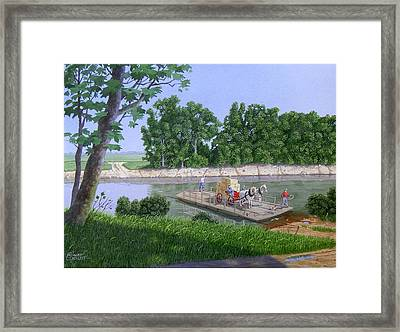 Darwin Ferry Framed Print